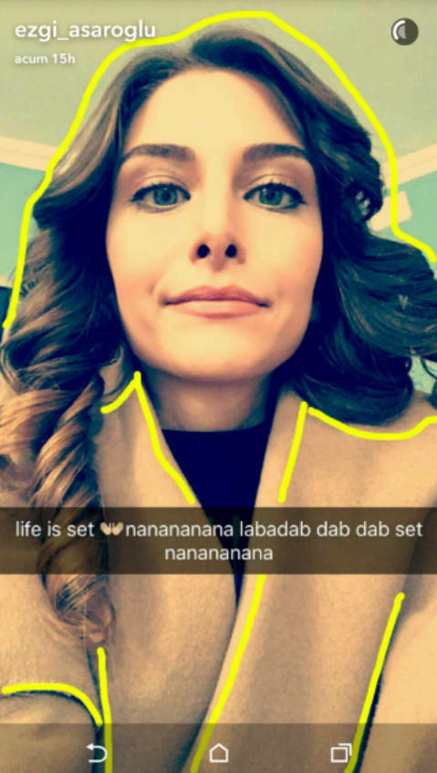 Viață pe Snapchat