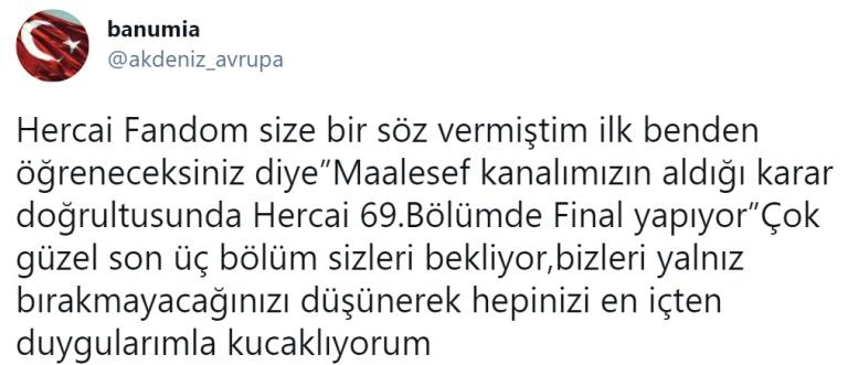 HERCAİ, ULTIMELE TREI EPISOADE - VIAȚA CU AROMĂ DE CAFEA