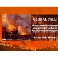 We Only Have One World. Please Help Turkey